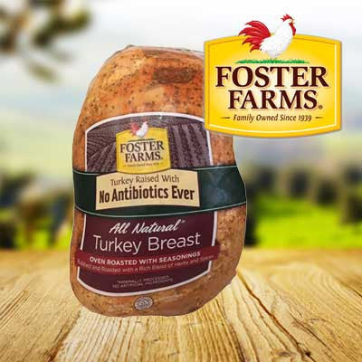 Foster Farms Natural Ridge With Seasoning Turkey Breast Image
