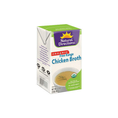 Natural Directions Organic Chicken Broth Image