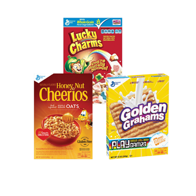 General Mills Cereals, Buy 4 Get A Dozen Large Eggs FREE! Image