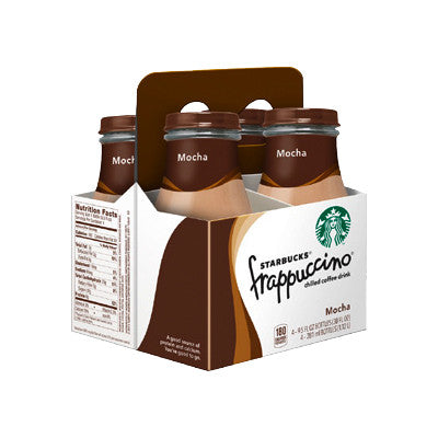 Starbucks Frappuccino 4 Pk. Must Buy 2/Limit 2 Image