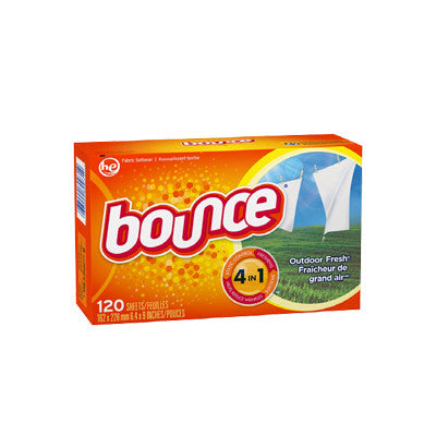 Bounce Fabric Softener Sheets 120 ct. Image