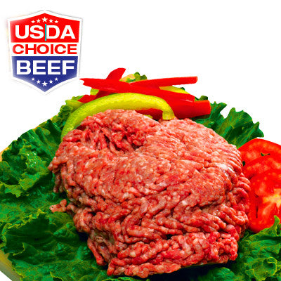 Fresh Ground Beef 85% Lean, U.S.D.A CHOICE Image