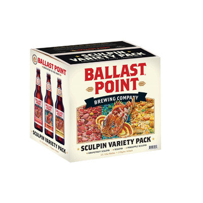 Ballast Point Sculpin Variety Pack 12 Pk. Image