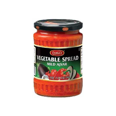 ZerGut Vegetable Ajvar Spread Hot or Mild Image