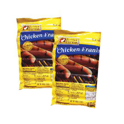 Foster Farms Franks Turkey or Chicken Image