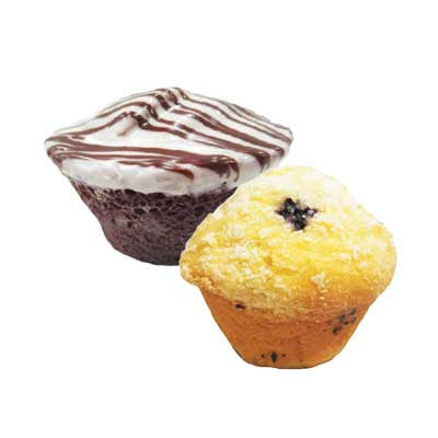 Mini Brownies Assorted or Mini Corn Bread Image