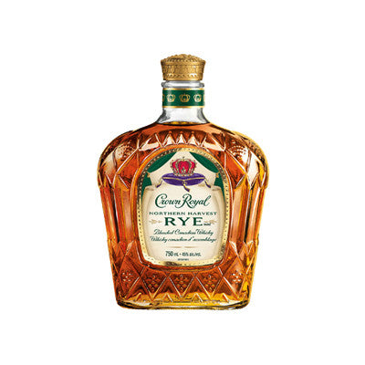Crown Royal Rye Canadian Whisky, 750 ml. Image