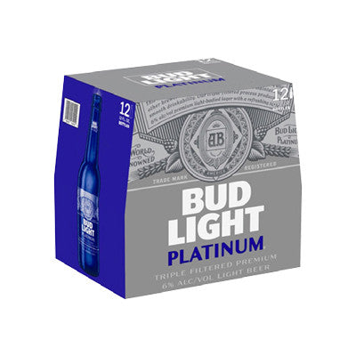 Bud Light Platinum, 12 Pk. Must Buy 2 Image