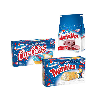 Hostess Red, White, & Blue or Donettes Image