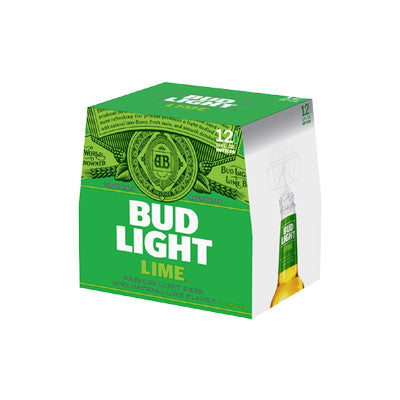 Bud Light Lime, 12 Pk. Must Buy 2 Image