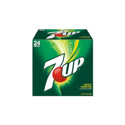 7UP Soft Drink, 24 Pk. Image
