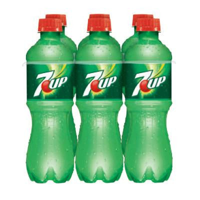7UP Soft Drinks 6 Pk. Image