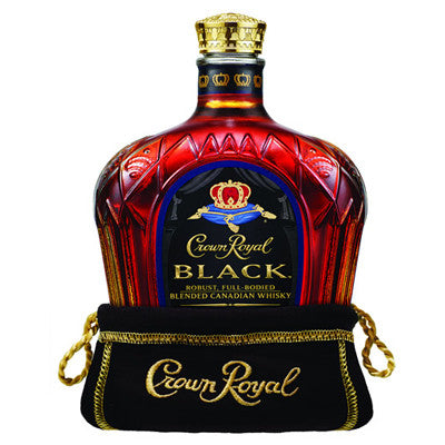 Crown Royal Black Canadian Whisky, 750 ml. Image