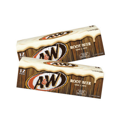 A&W Root Beer 12 Pk. Image