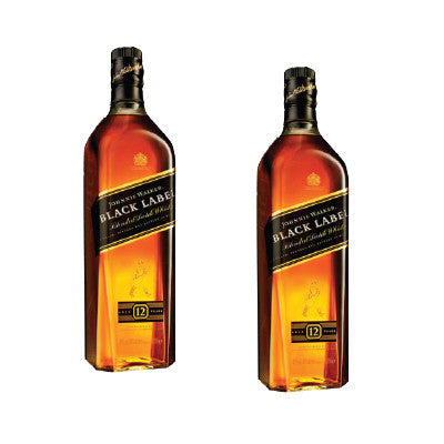 Johnnie Walker Black Label Scotch Whisky, Limit 12 Image