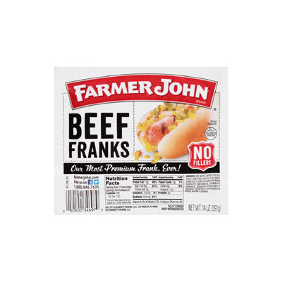 Farmer John All Beef Franks Image