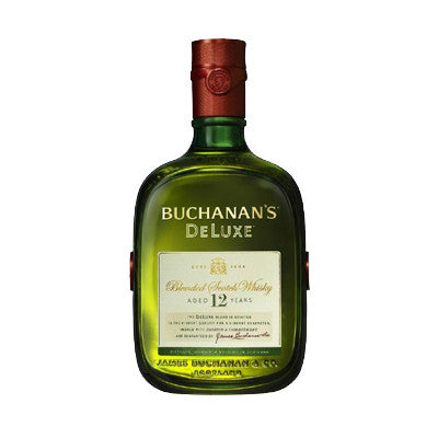 Buchanan's 12 Year Scotch Whisky 750 ml. Limit 12 Image