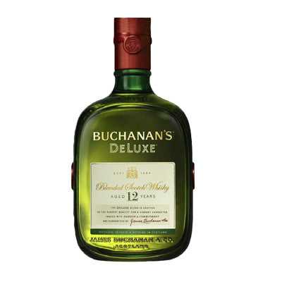 Buchanan's De Luxe 12 Year Blended Scotch Whisky 750 ml. Image