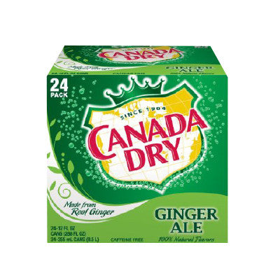 Canada Dry Ginger Ale, 24 Pk. Image
