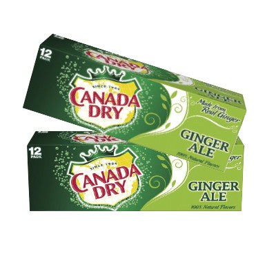 Canada Dry Ginger Ale 12 Pk. Must Buy 3 Image