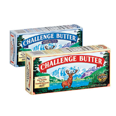 Challenge Butter Qtrs Salted, Unsalted Butter Image