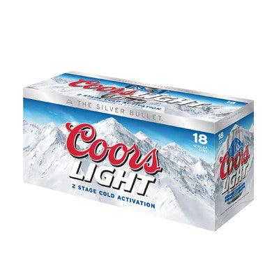 Coors Light 18 Pk. Must Buy 2 Image