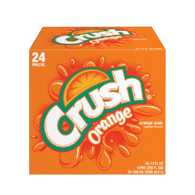Crush Soft Drinks, 24 Pk. Image