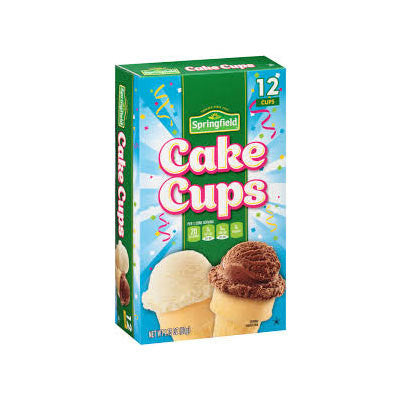 Springfield Ice Cream Cups 12 ct. Image