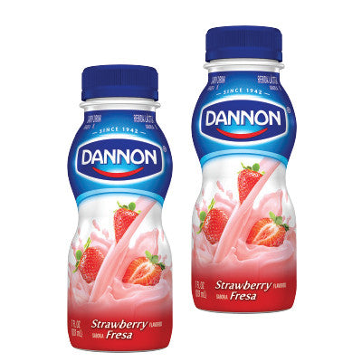 Dannon Drinkable Yogurts Image