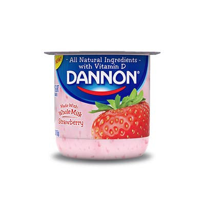 Dannon Whole Milk Yogurts Image