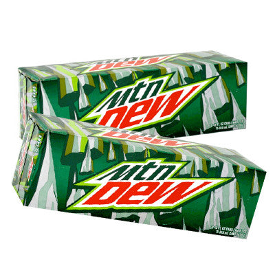 Mountain Dew, 12 Pk. Image