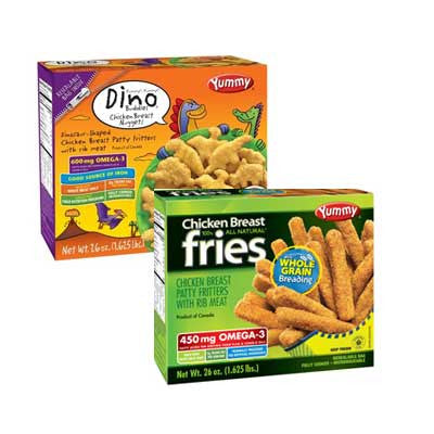 Yummy Alpha, Dino Buddies Nuggets, Chicken Breast Fries or Boneless Buffalo Wings Image