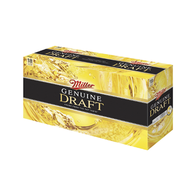 Miller Genuine Draft 18 Pk. Must Buy 2 Image