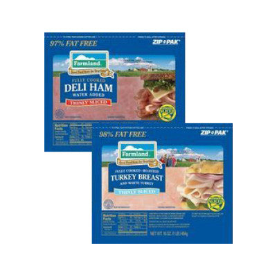 Farmland Sliced Cooked Ham, Black Forest & Low Sodium Image