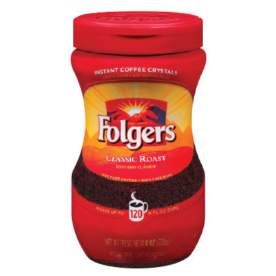 Folger's Instant Coffee, Limit 2 Image
