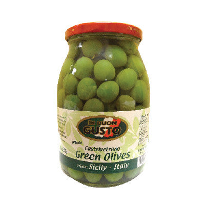 Di Buon Gusto Whole Green Olives Image