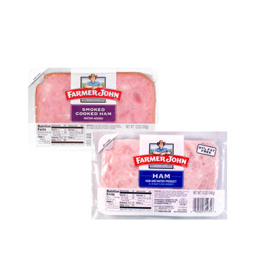 Farmer John Sliced Ham, Smoked Ham or Low Sodium Ham Image