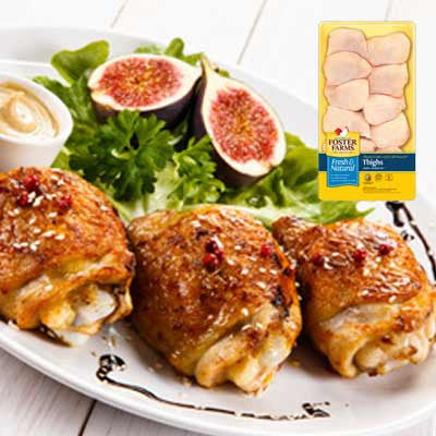 Foster Farms Fresh Chicken Thighs Image