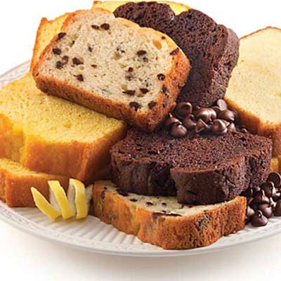 Sliced Loaf Cake Image