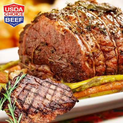 Fresh Boneless Beef Chuck Steak or Roast Image