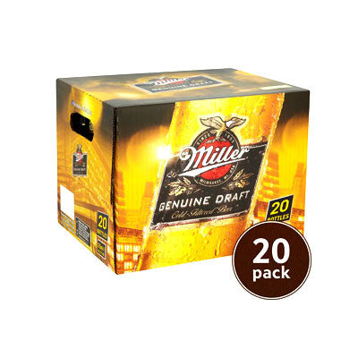 Miller Genuine Draft, 20 Pk. Image