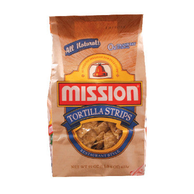 Mission Brown Bag Tortilla Chips Image