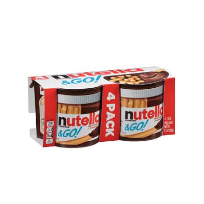 Nutella & Go! 4 ct. Image