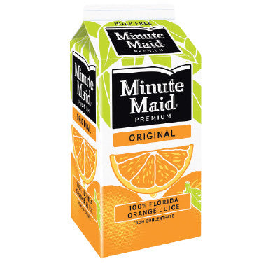 Minute Maid Pure Orange Juice Image