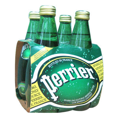 Perrier Mineral Water, 4Pk. Limit 6 Image