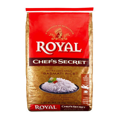 Royal Chef's Secret Extra Long Grain Basmati Rice, Limit 2 Image