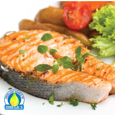 Fresh Atlantic Salmon Steak Image