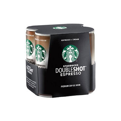 Starbucks Double Shots 4 Pk. Limit 6 Image