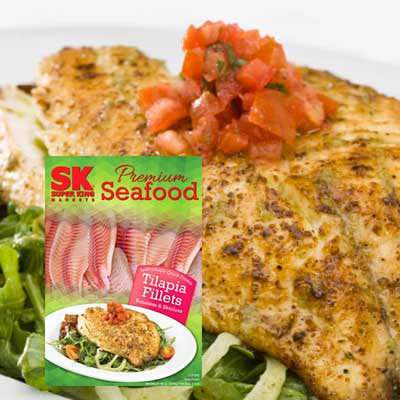 Super King Premium Tilapia Fillet Image
