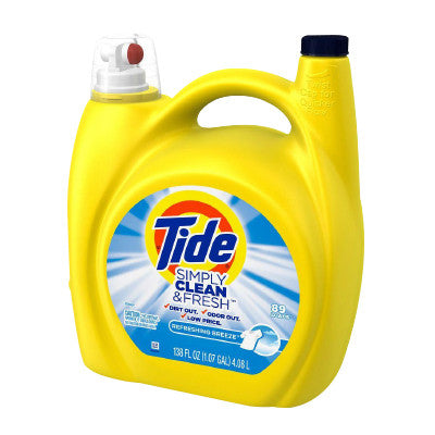 Simply Tide Liquid Laundry Detergent, Limit 2 Image